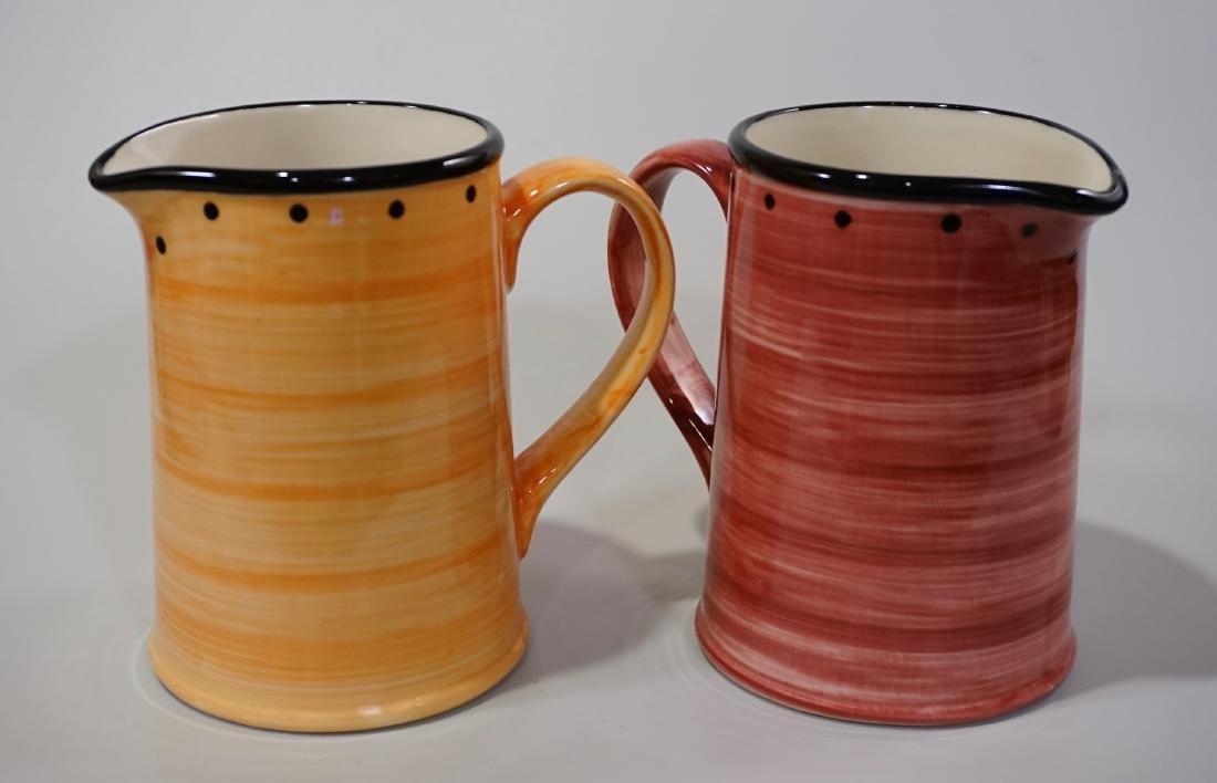 Ulster Ceramics Pitcher Lot of 2 English Ceramics Jugs - 2
