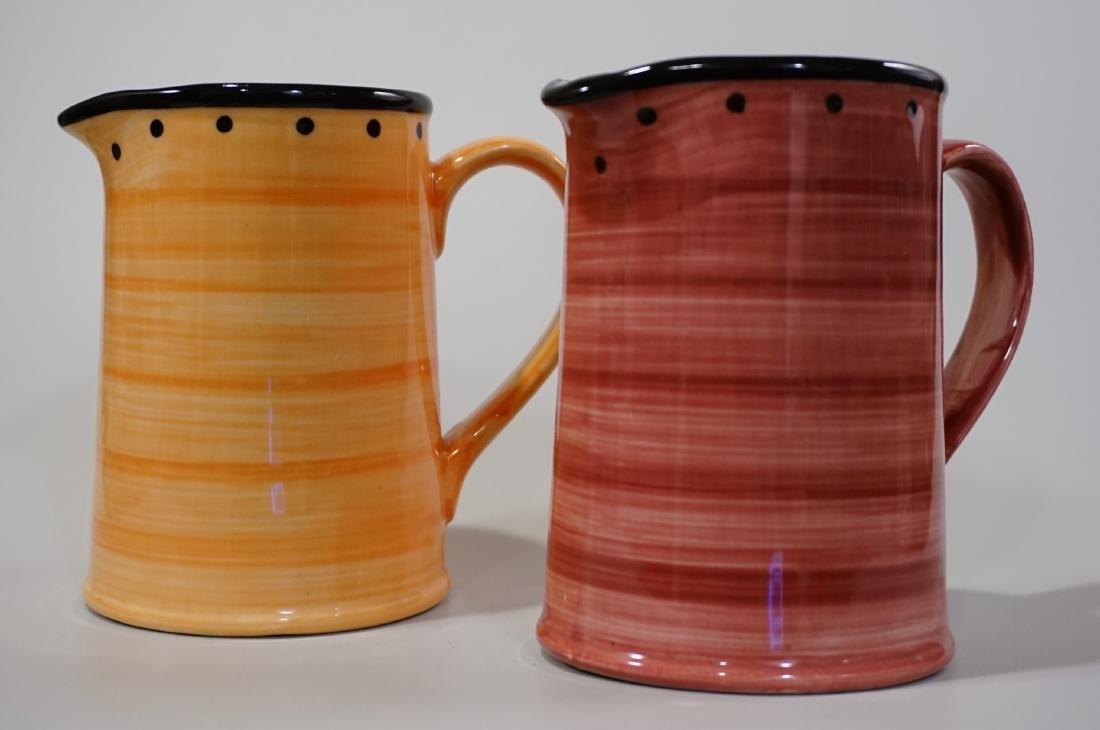 Ulster Ceramics Pitcher Lot of 2 English Ceramics Jugs - 3