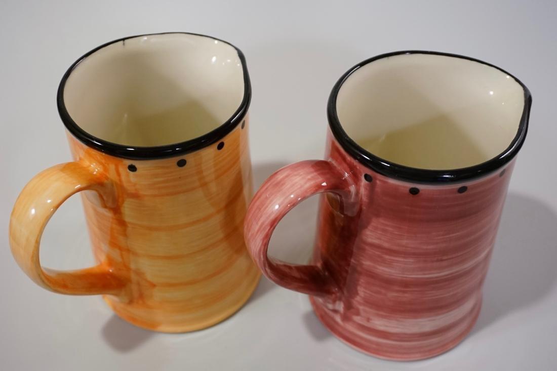 Ulster Ceramics Pitcher Lot of 2 English Ceramics Jugs - 4