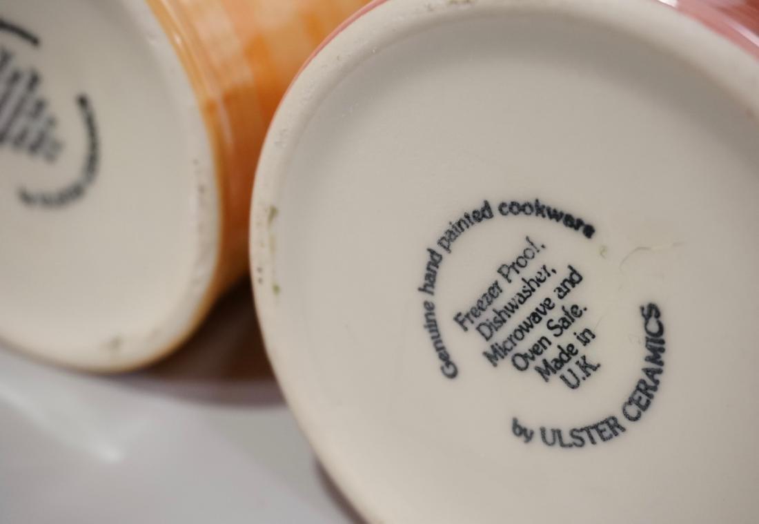 Ulster Ceramics Pitcher Lot of 2 English Ceramics Jugs - 6