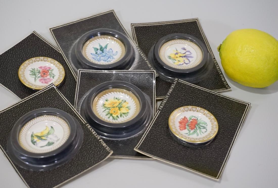 Franklin Mint Porcelain Miniature Plate Dollhouse