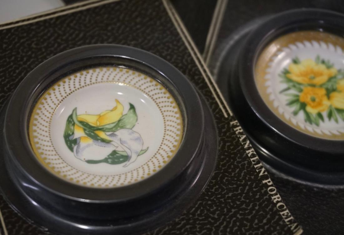 Franklin Mint Porcelain Miniature Plate Dollhouse - 2