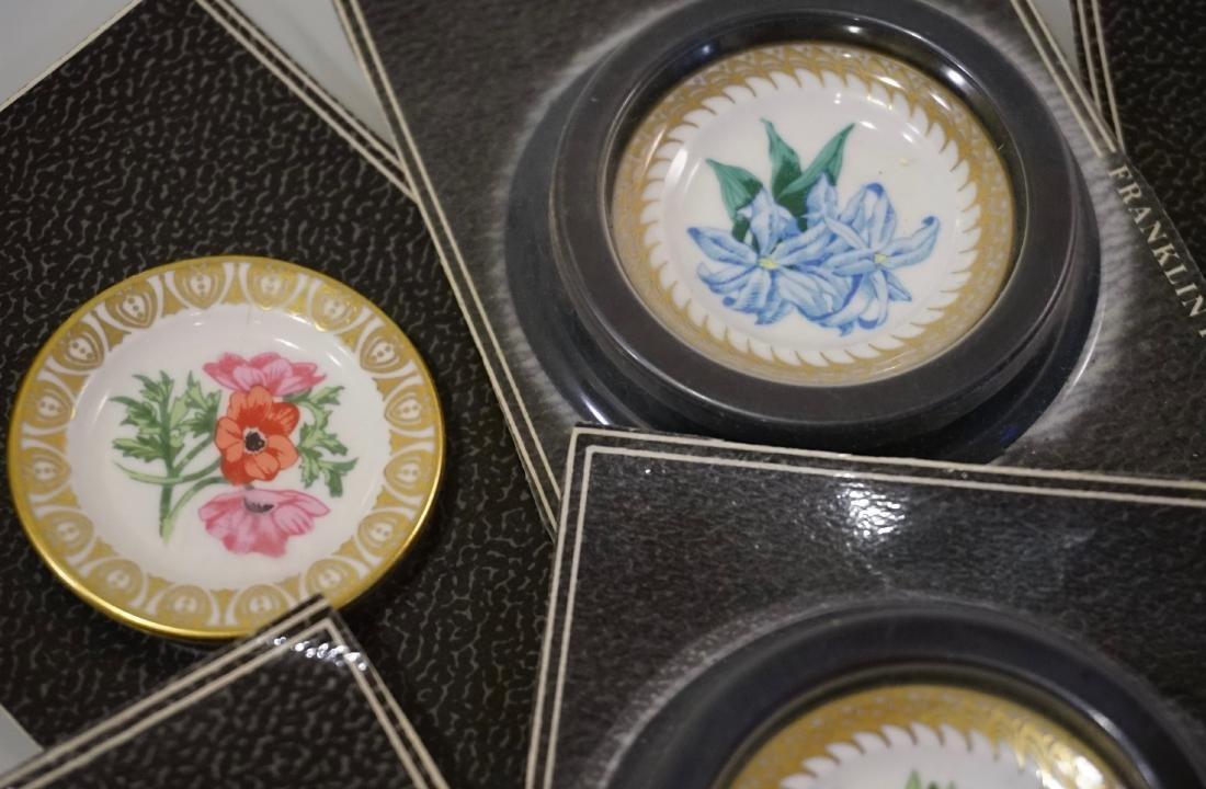 Franklin Mint Porcelain Miniature Plate Dollhouse - 3