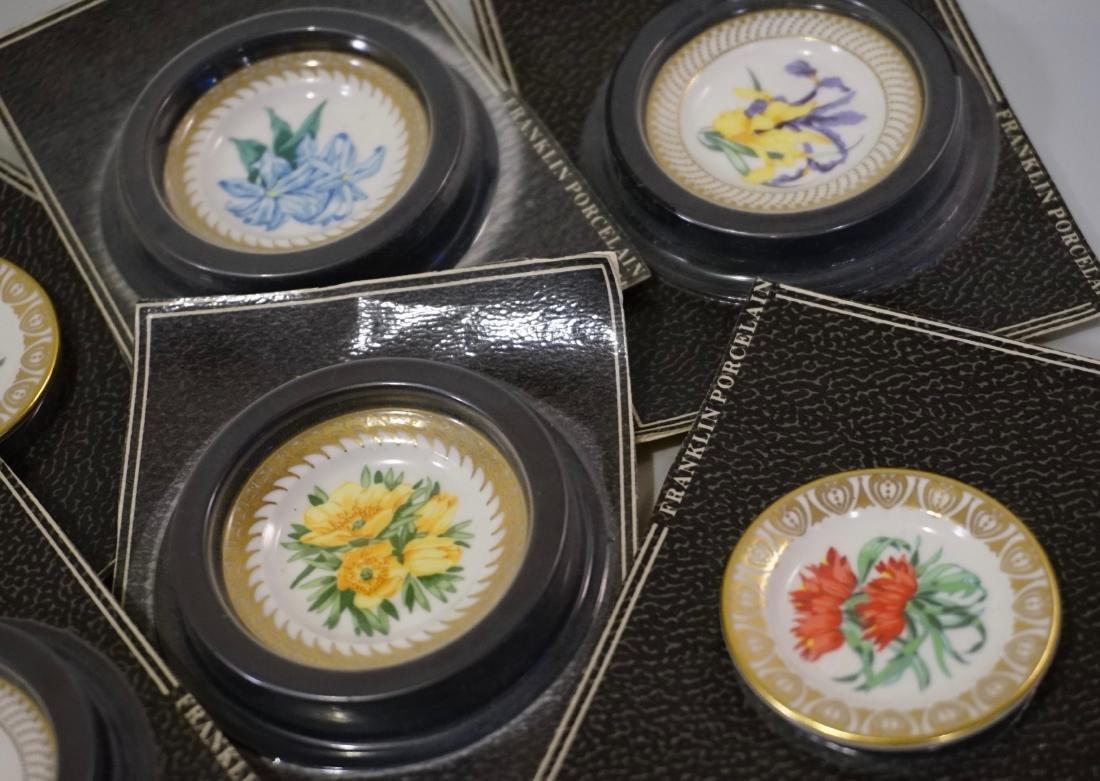 Franklin Mint Porcelain Miniature Plate Dollhouse - 4