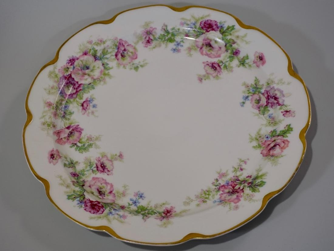 Haviland Limoges Porcelain Tray Platter Plate Set of 3 - 2