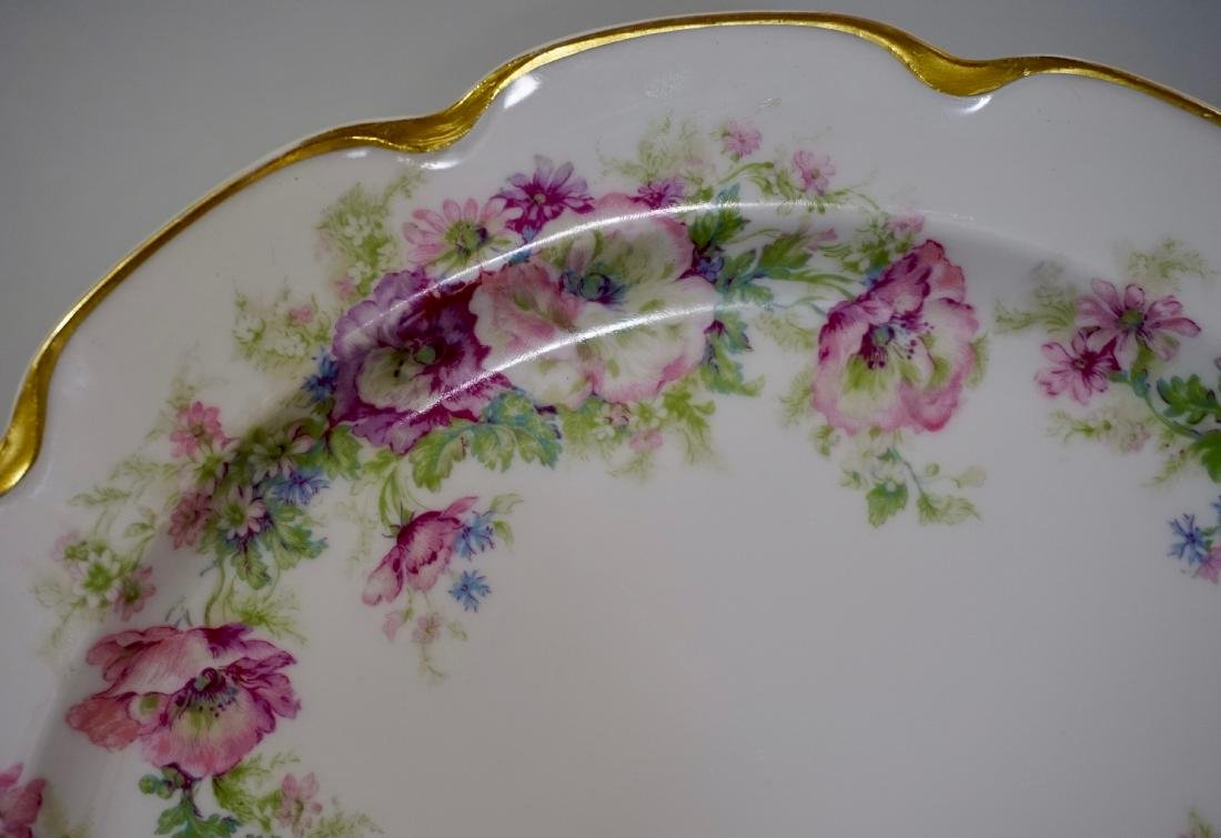 Haviland Limoges Porcelain Tray Platter Plate Set of 3 - 3