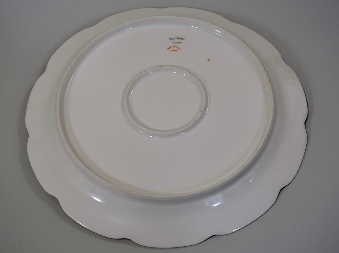 Haviland Limoges Porcelain Tray Platter Plate Set of 3 - 4