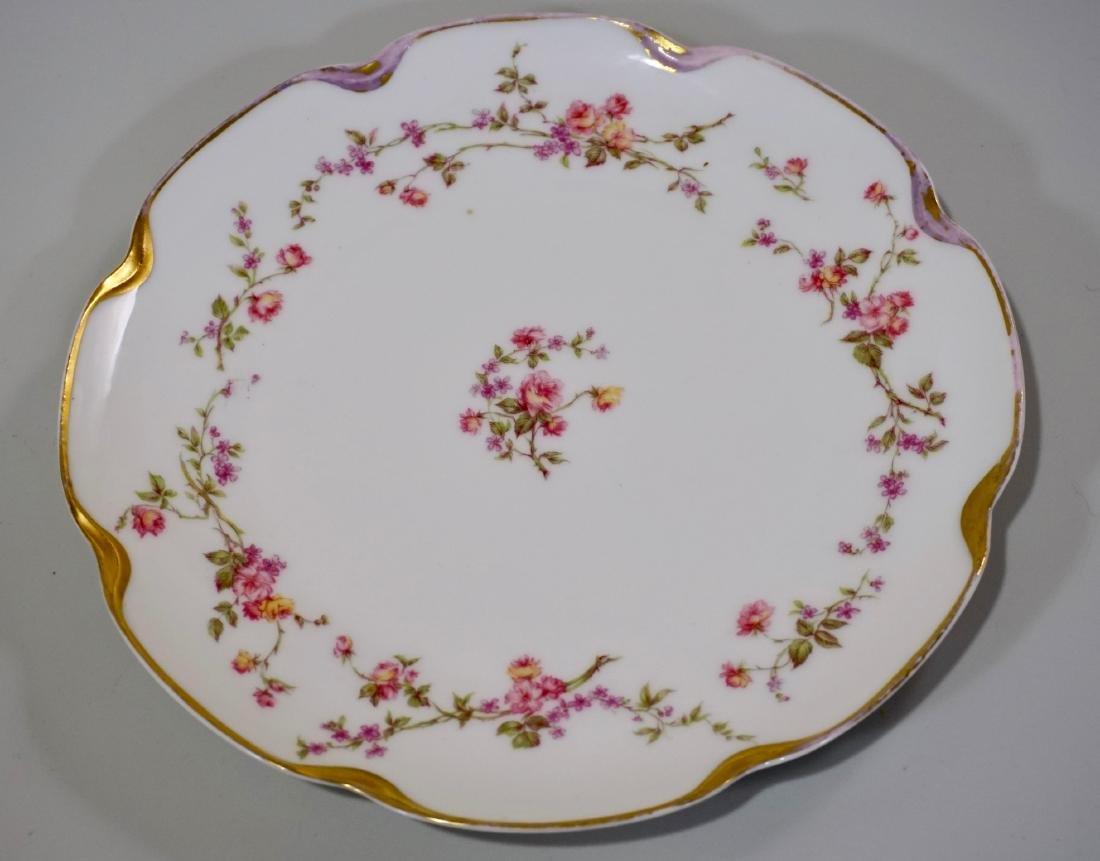 Haviland Limoges Porcelain Tray Platter Plate Set of 3 - 6
