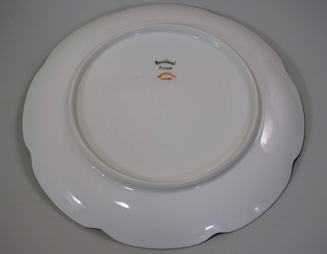 Haviland Limoges Porcelain Tray Platter Plate Set of 3 - 7