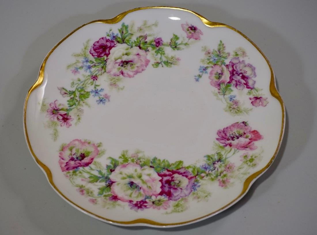 Haviland Limoges Porcelain Tray Platter Plate Set of 3 - 8