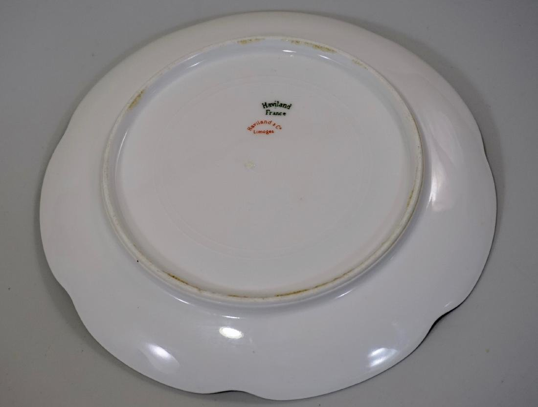 Haviland Limoges Porcelain Tray Platter Plate Set of 3 - 9