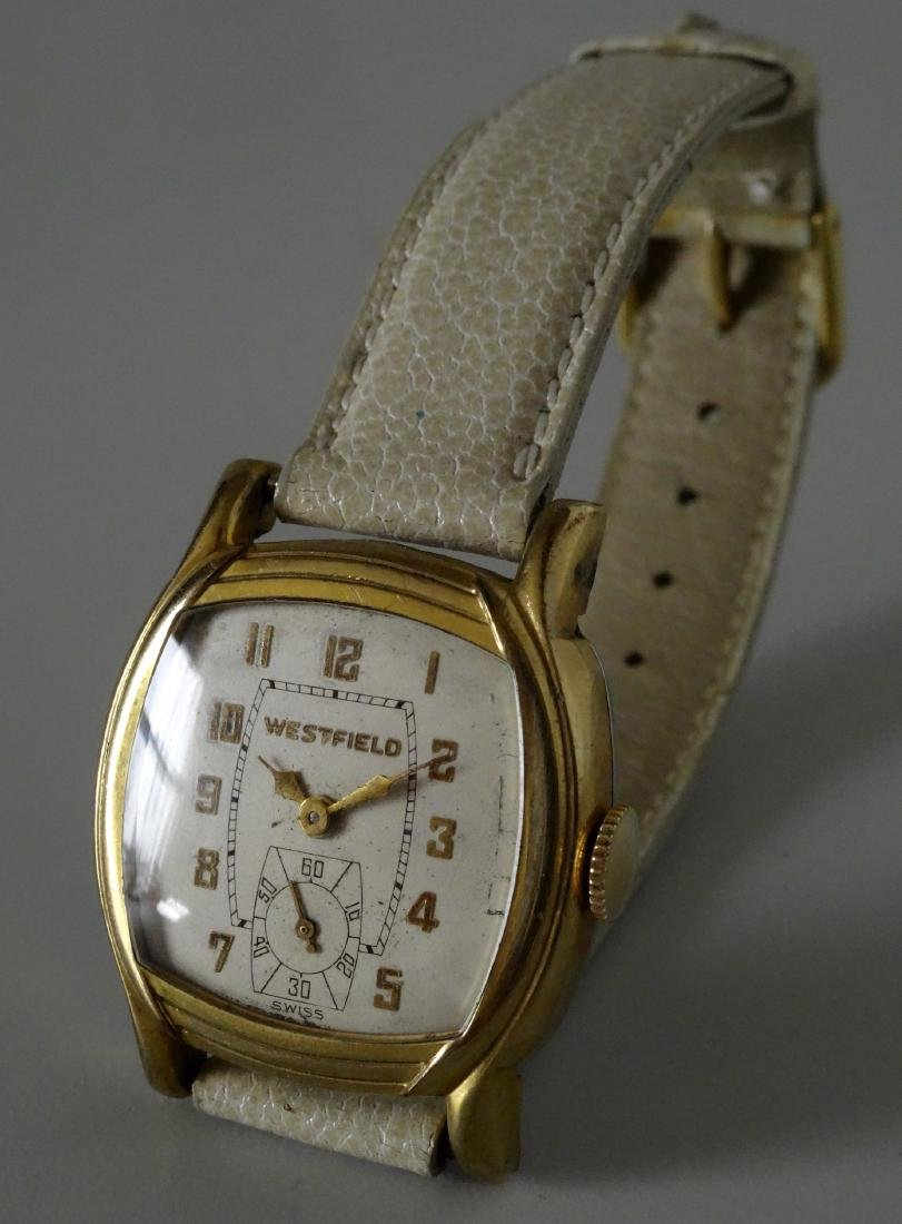 Vintage Art Deco Westfield Swiss Wrist Watch Serviced