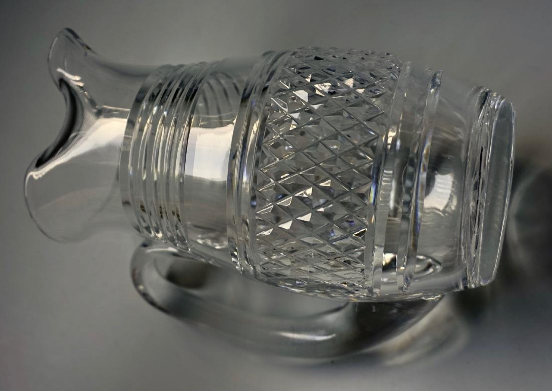 Waterford Crystal Pitcher Lot of 2 Pitchers - 8
