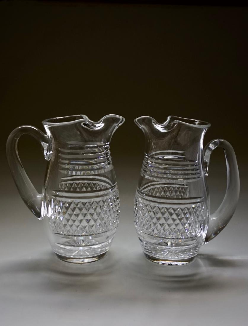 Waterford Crystal Pitcher Lot of 2 Pitchers - 2