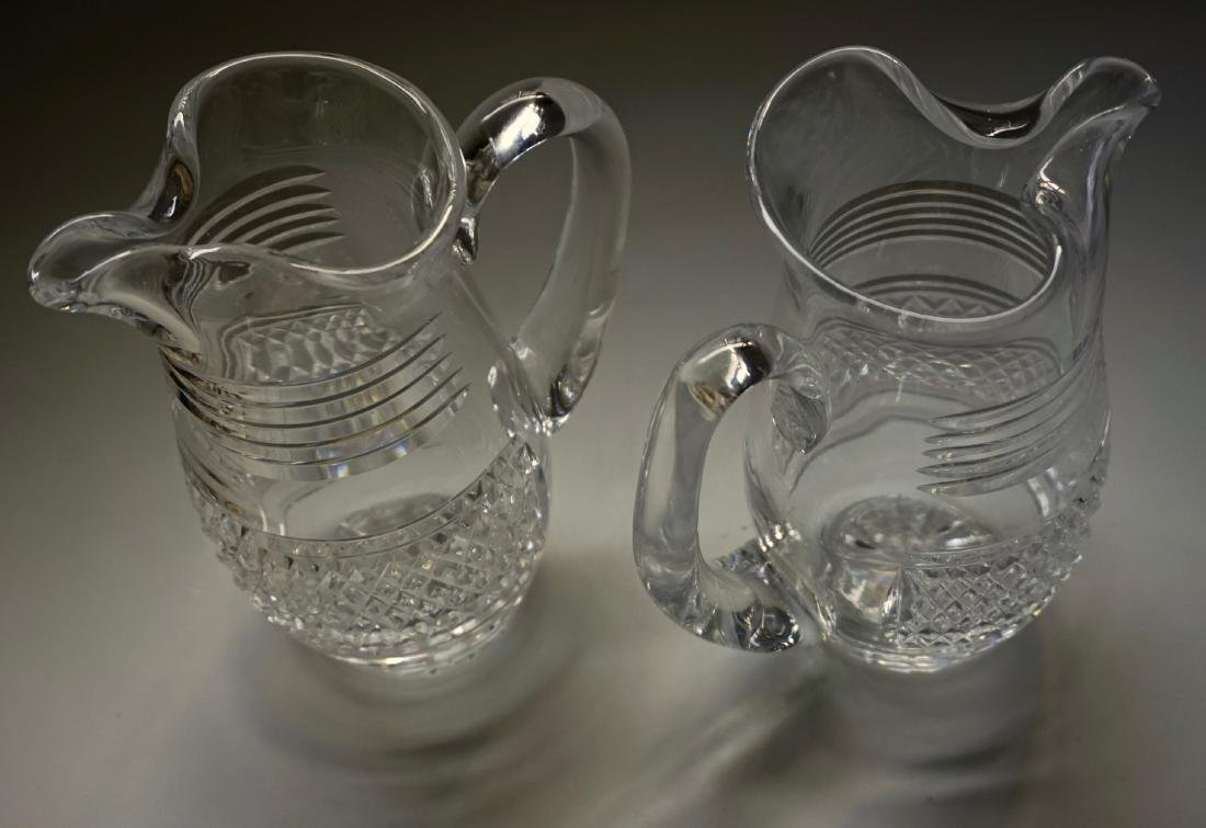 Waterford Crystal Pitcher Lot of 2 Pitchers - 3