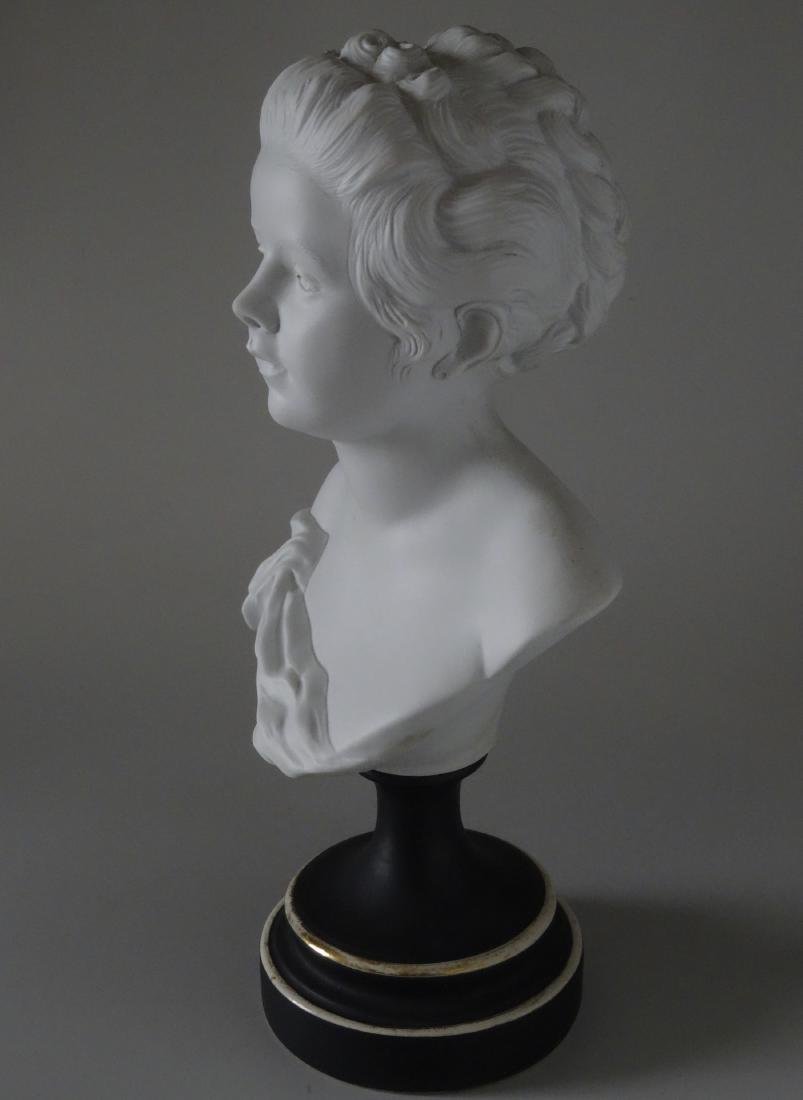 Antique French Samson Bisque Porcelain Bust Artist - 2