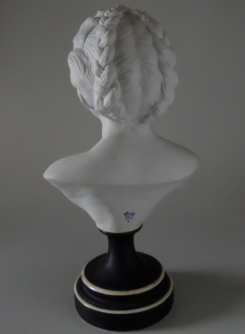 Antique French Samson Bisque Porcelain Bust Artist - 3