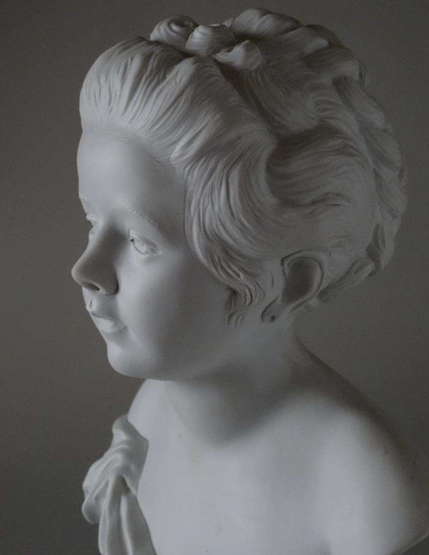 Antique French Samson Bisque Porcelain Bust Artist - 9