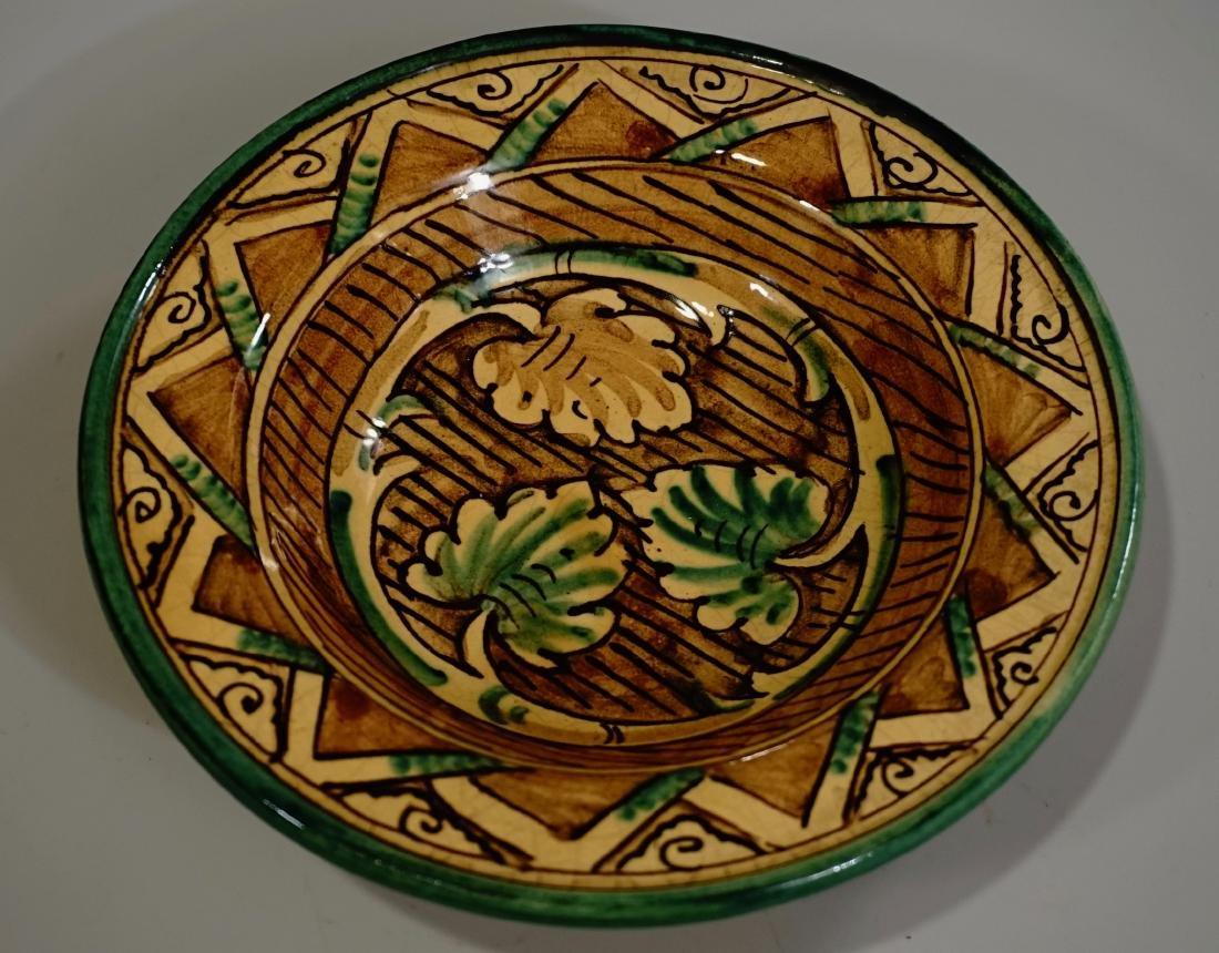 Hand Painted Italian Pottery Decorative Wall Plates Lot - 6