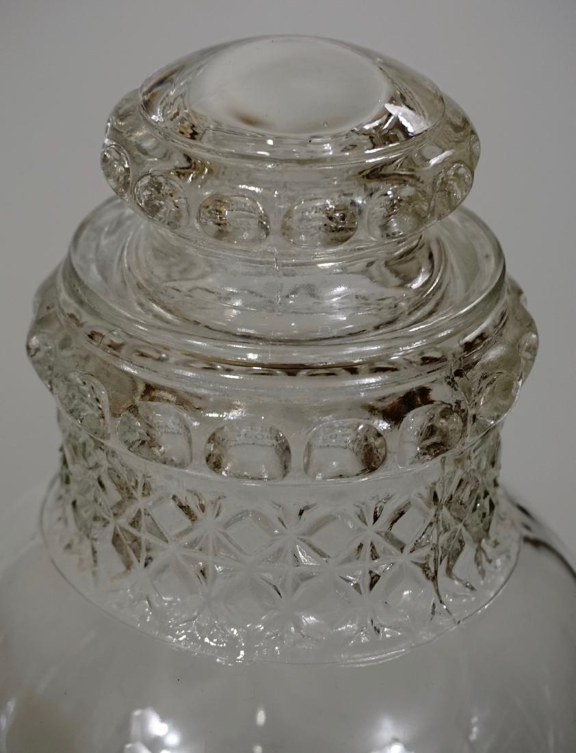 Antique Dakota Apothecary Glass Drug Store Counter - 5
