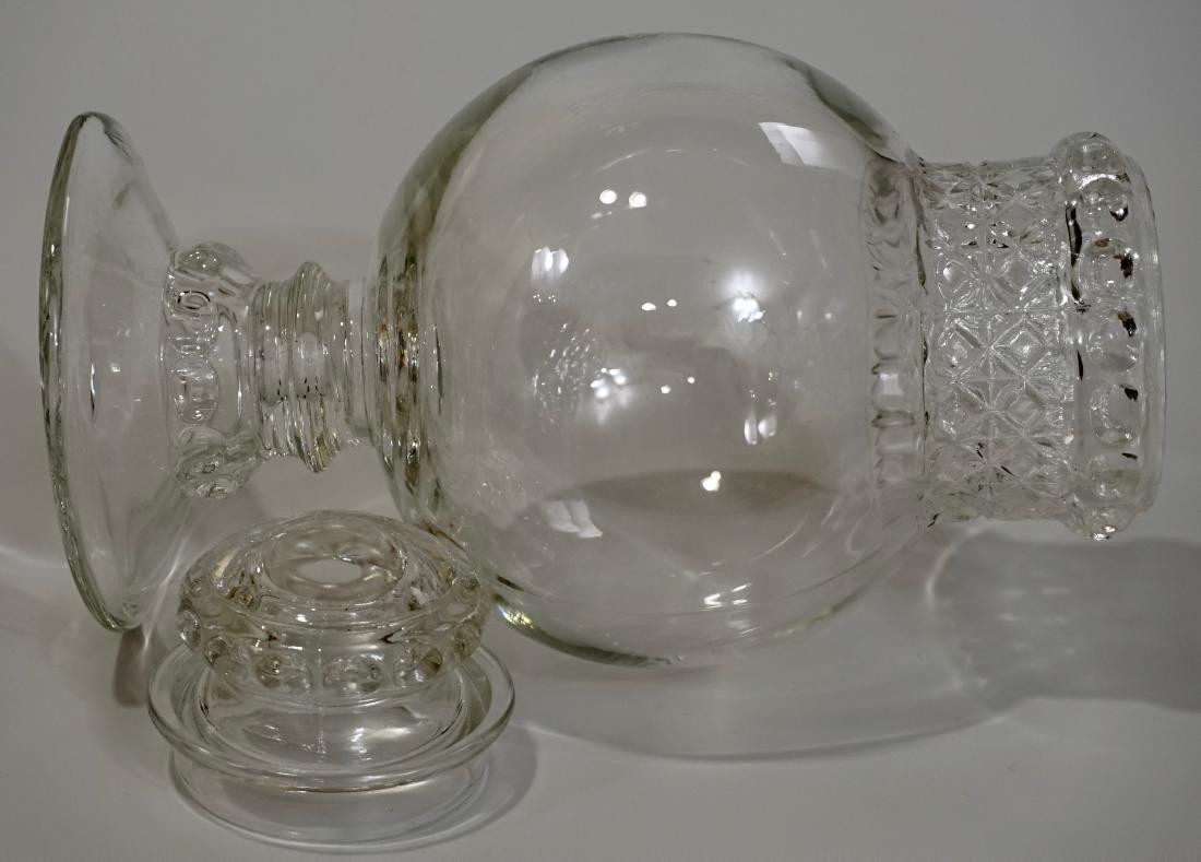 Antique Dakota Apothecary Glass Drug Store Counter - 7