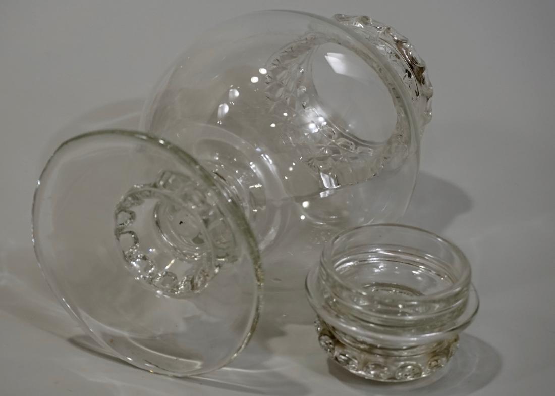 Antique Dakota Apothecary Glass Drug Store Counter - 8