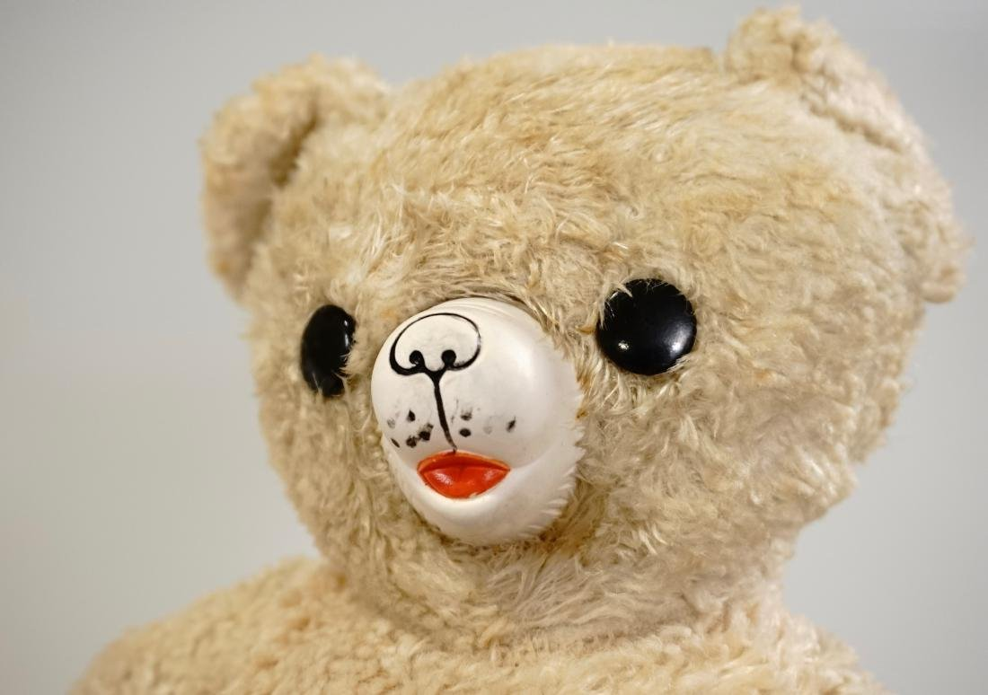 Vintage Gund Cubbi Stuffed Toy Teddy Bear Rubber Nose - 2