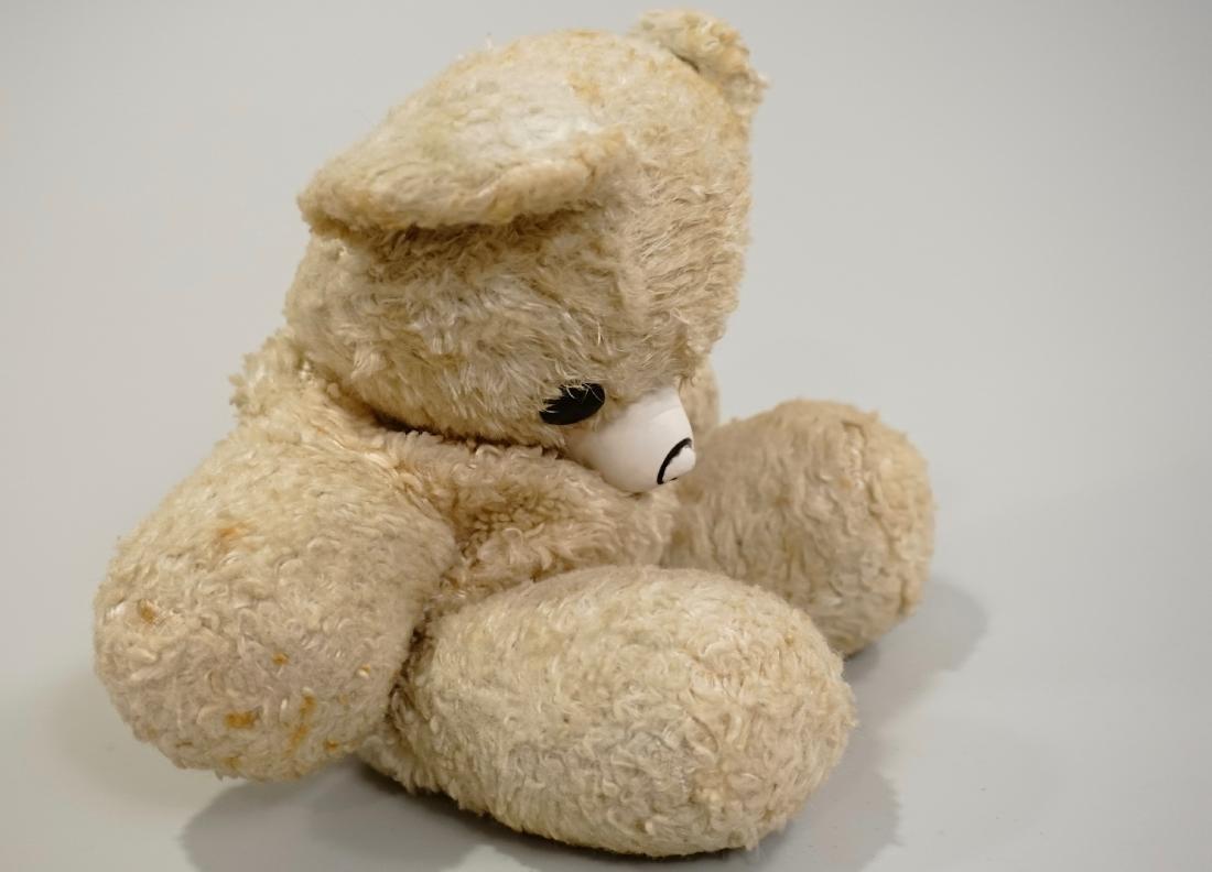 Vintage Gund Cubbi Stuffed Toy Teddy Bear Rubber Nose - 3