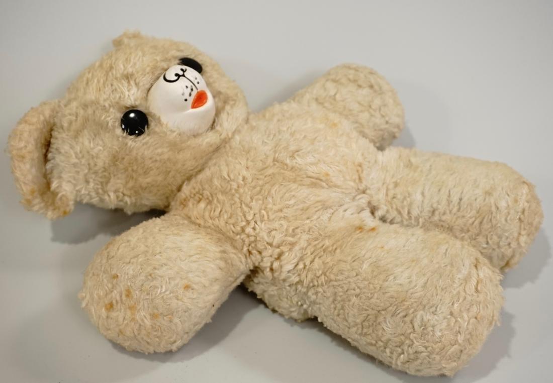 Vintage Gund Cubbi Stuffed Toy Teddy Bear Rubber Nose - 4