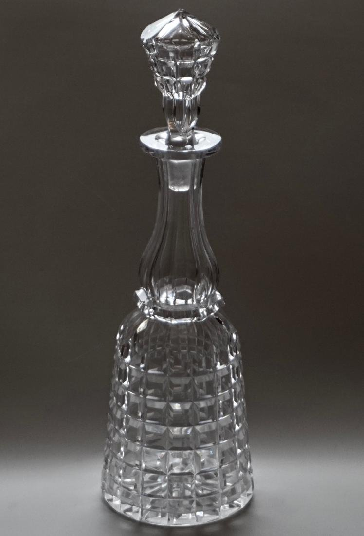 Antique Cut Glass Crystal Decanter
