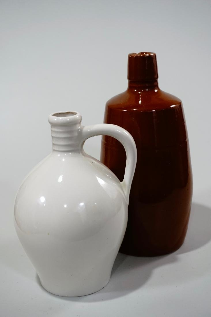 Pottery Flask Bottle