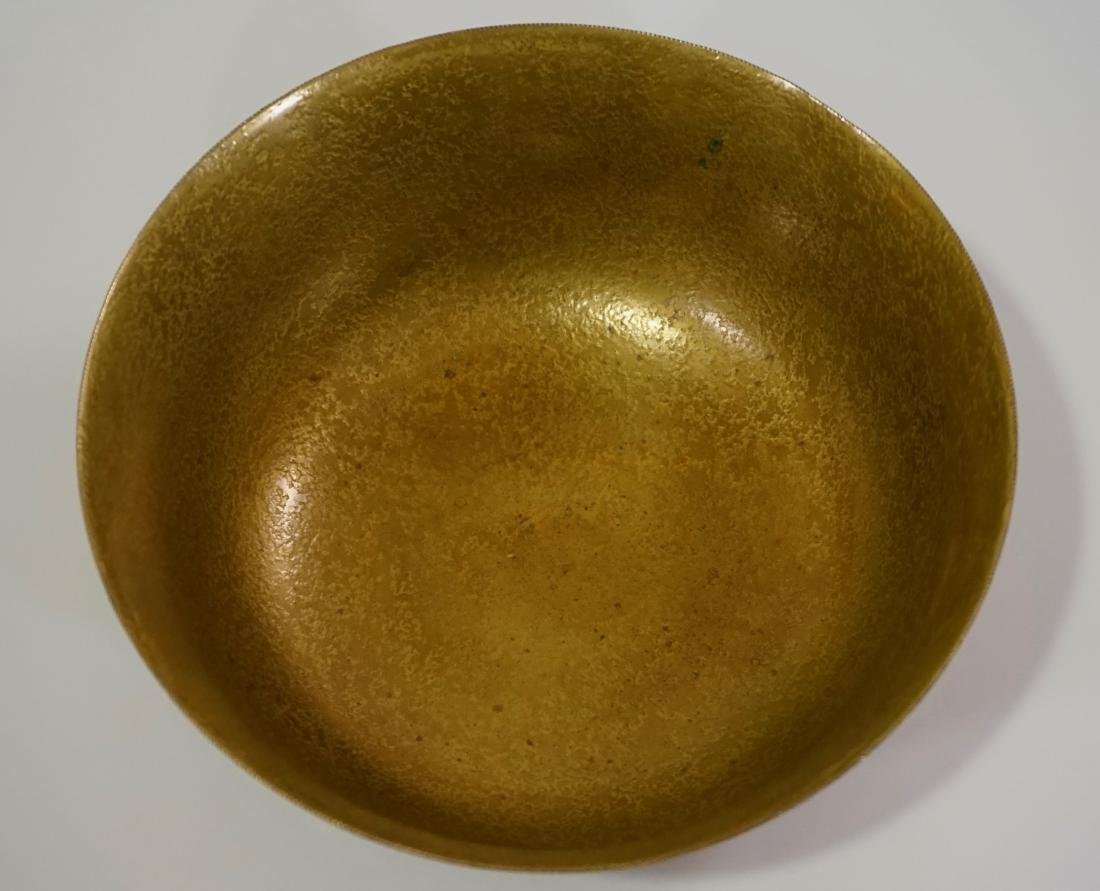 Antique Tiffany Bowl Furnaces Favrile Bronze Ship - 5
