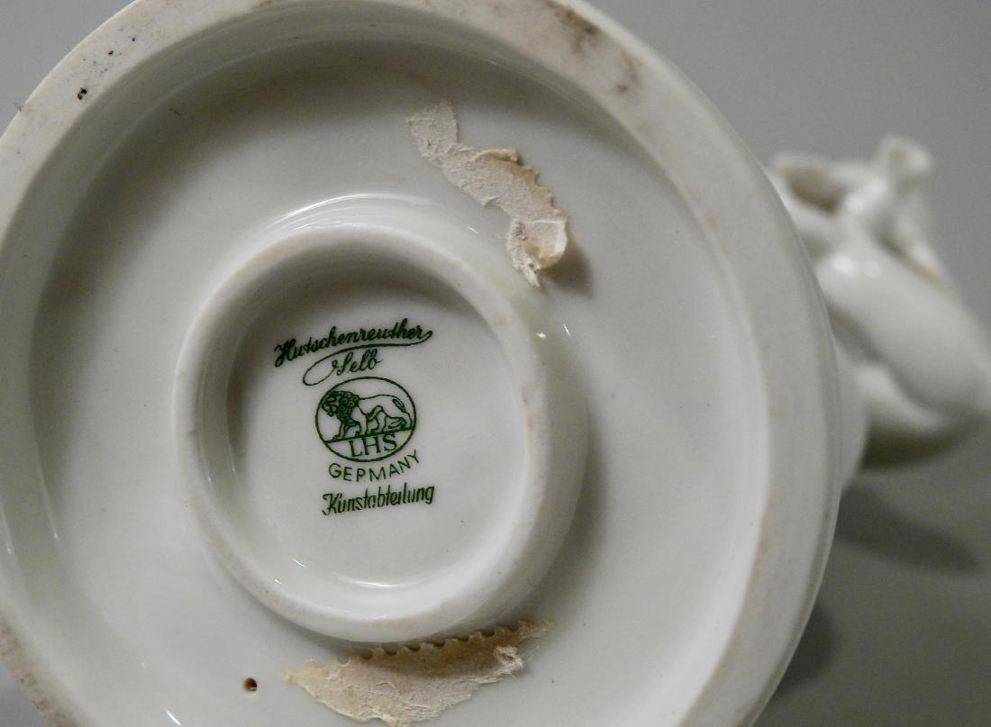 German Hutschenreuther Blank De Chine Porcelain - 7