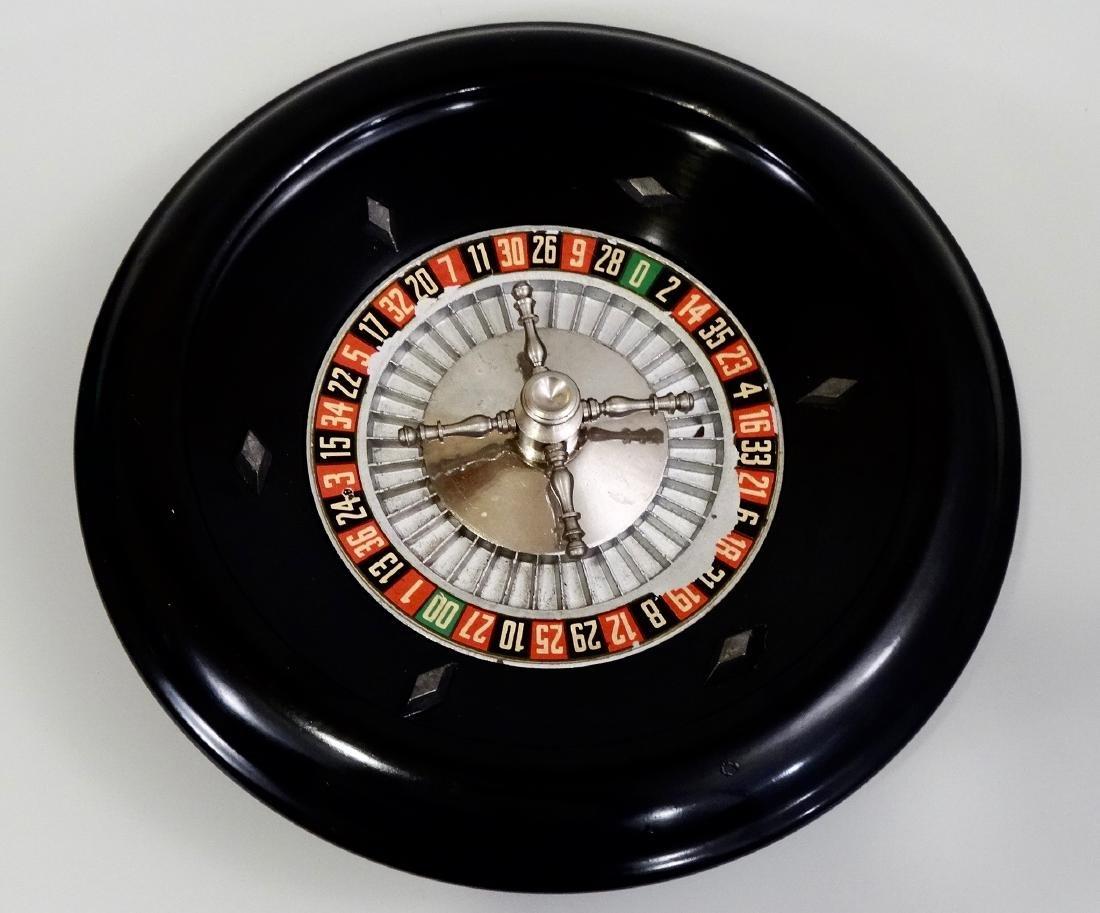 Vintage Bakelite Roulette Heavy Alloy Wheel - 4