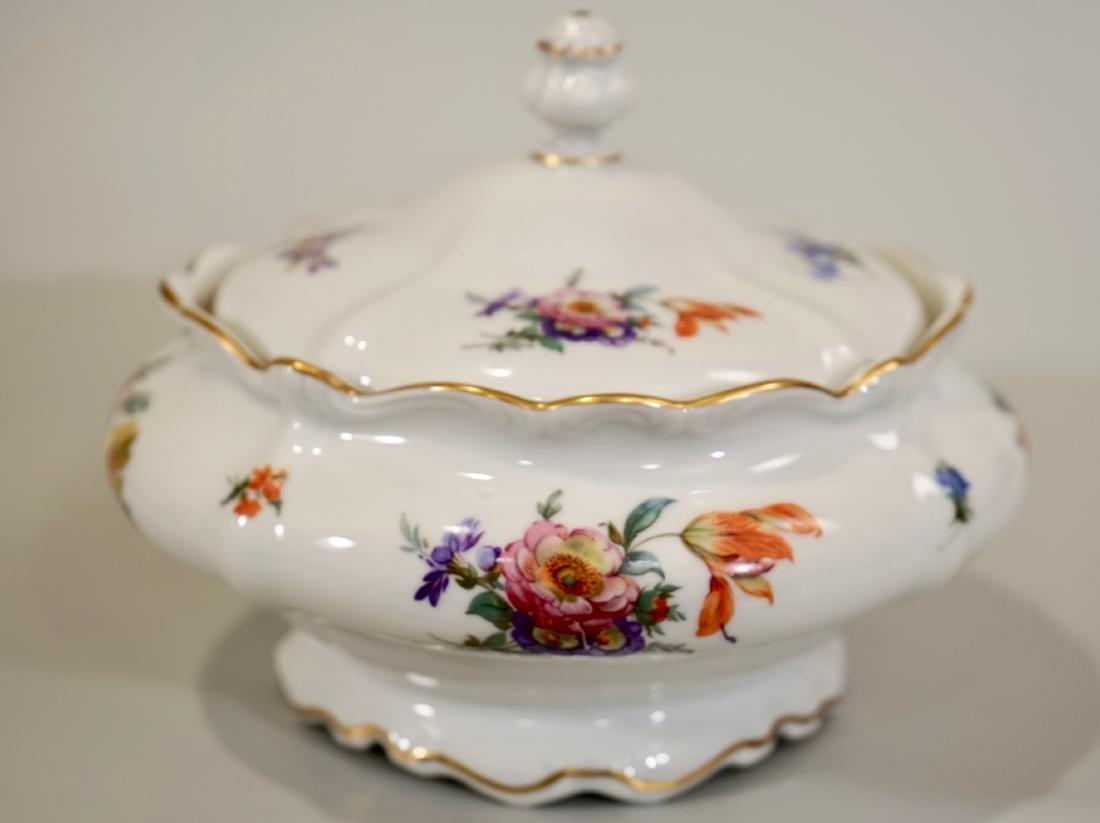 Vintage Rosenthal Dresden Flowers Soup Tureen - 2
