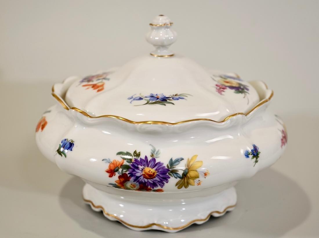 Vintage Rosenthal Dresden Flowers Soup Tureen - 3