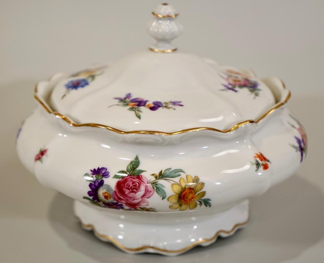 Vintage Rosenthal Dresden Flowers Soup Tureen - 4