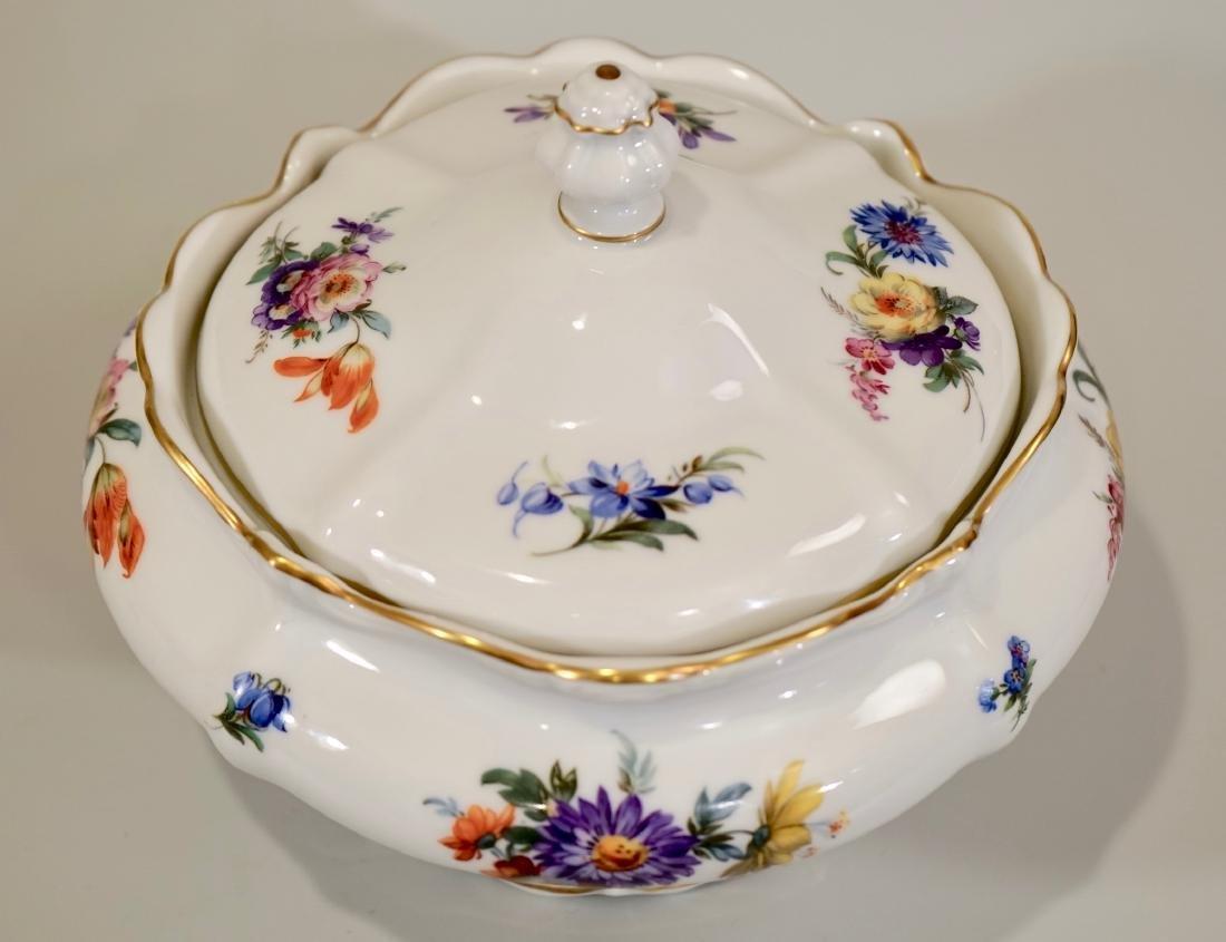 Vintage Rosenthal Dresden Flowers Soup Tureen - 5