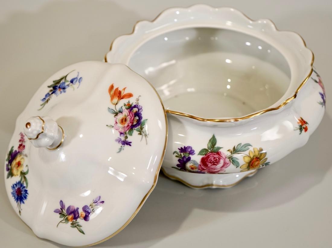 Vintage Rosenthal Dresden Flowers Soup Tureen - 6