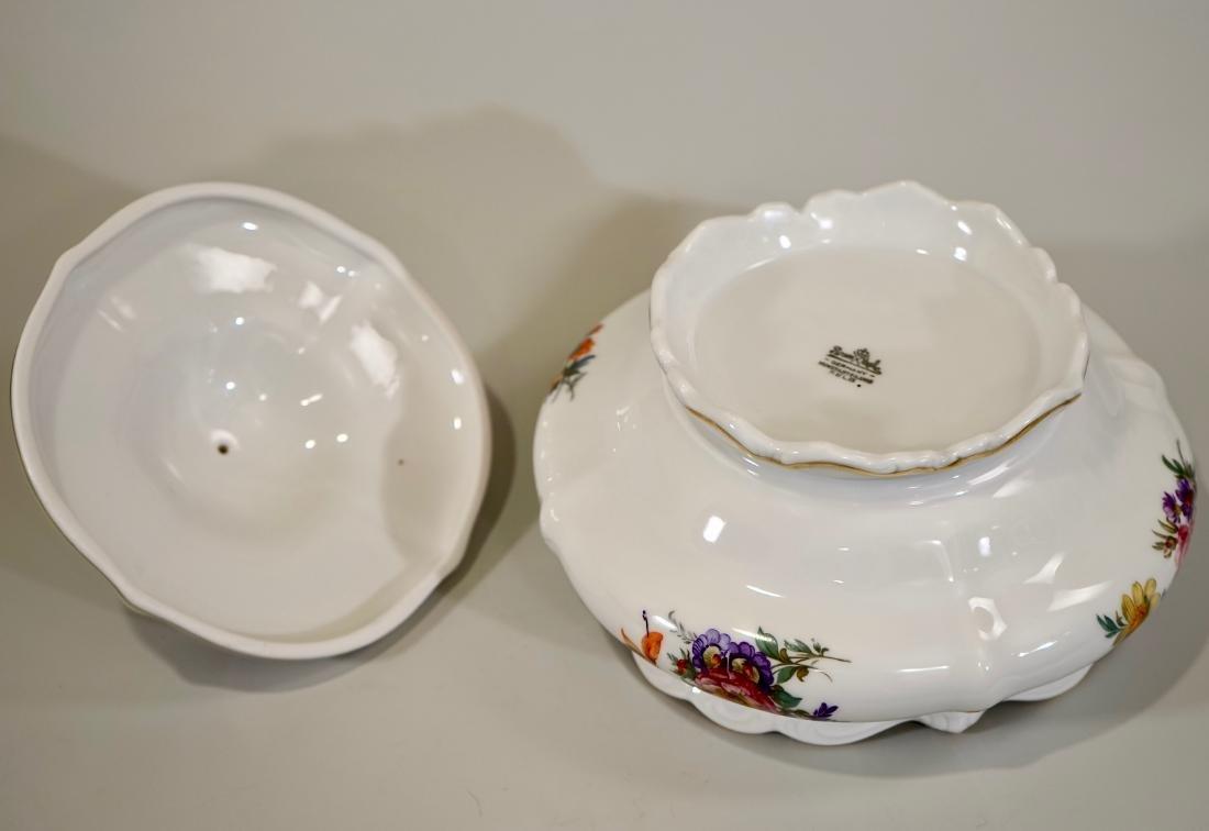 Vintage Rosenthal Dresden Flowers Soup Tureen - 7