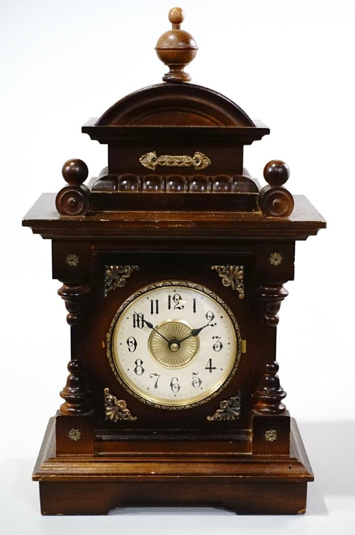 Musical Shelf Clock Music Box Electric Movement