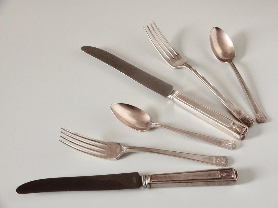 Homes and Edwards Silver Plated Flatware 6 pc