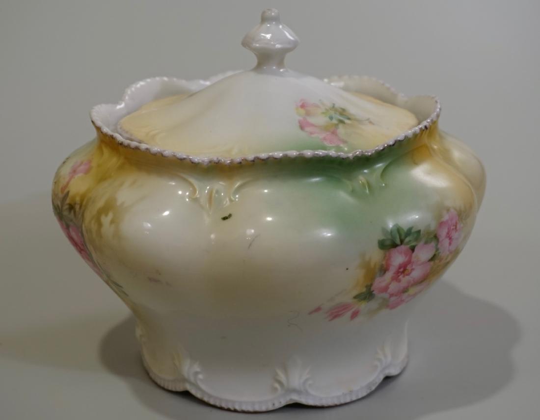 Antique RS Prussia Lidded Jar - 2