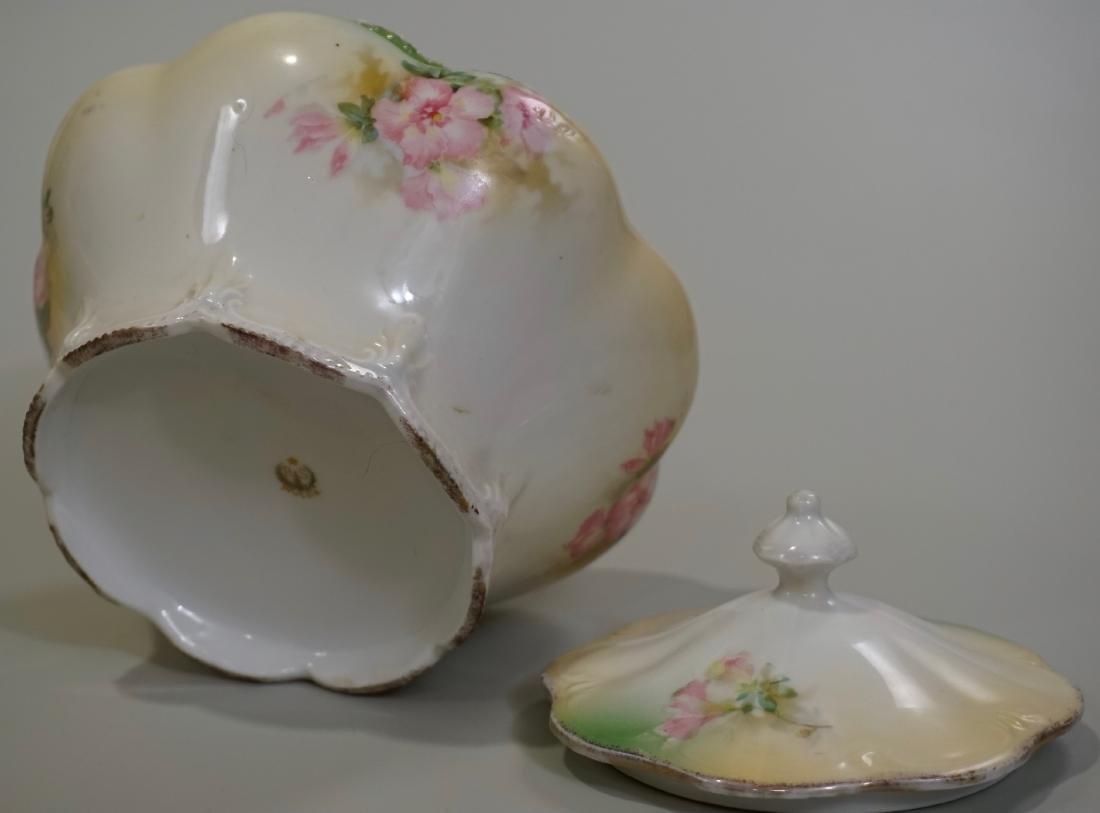 Antique RS Prussia Lidded Jar - 7