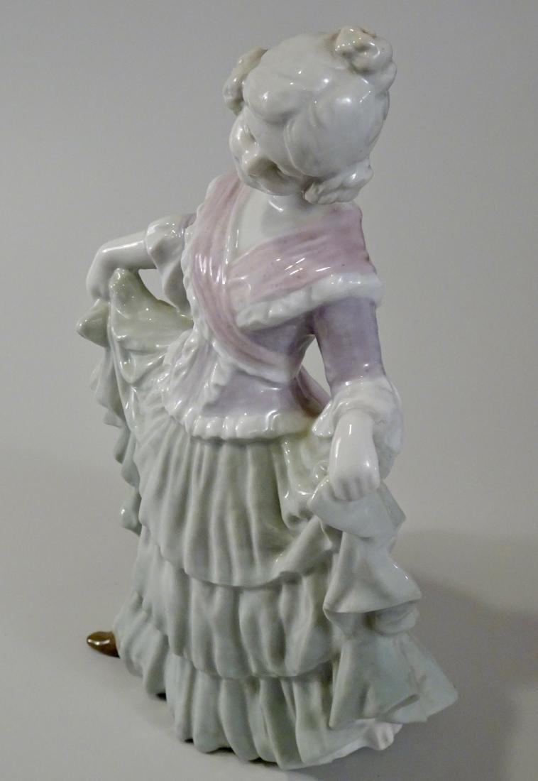 Gebrueder Heubach Girl Figurine Large German Porcelain - 2