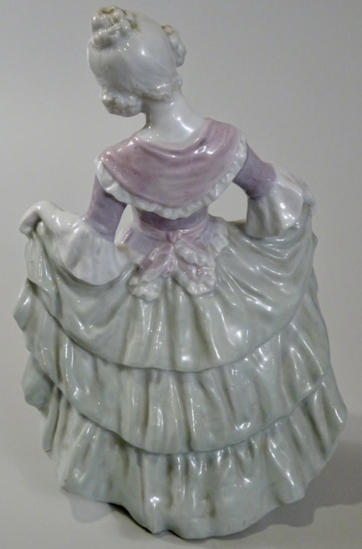 Gebrueder Heubach Girl Figurine Large German Porcelain - 3