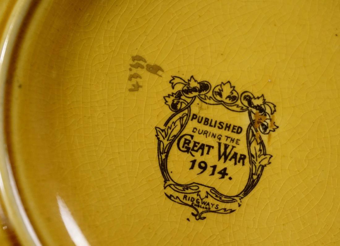 WWI Field Marshal Earl Kitchener Ridgways Pottery - 5