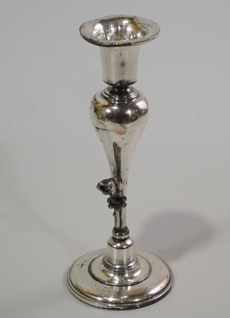Meriden Co Silver Candlestick