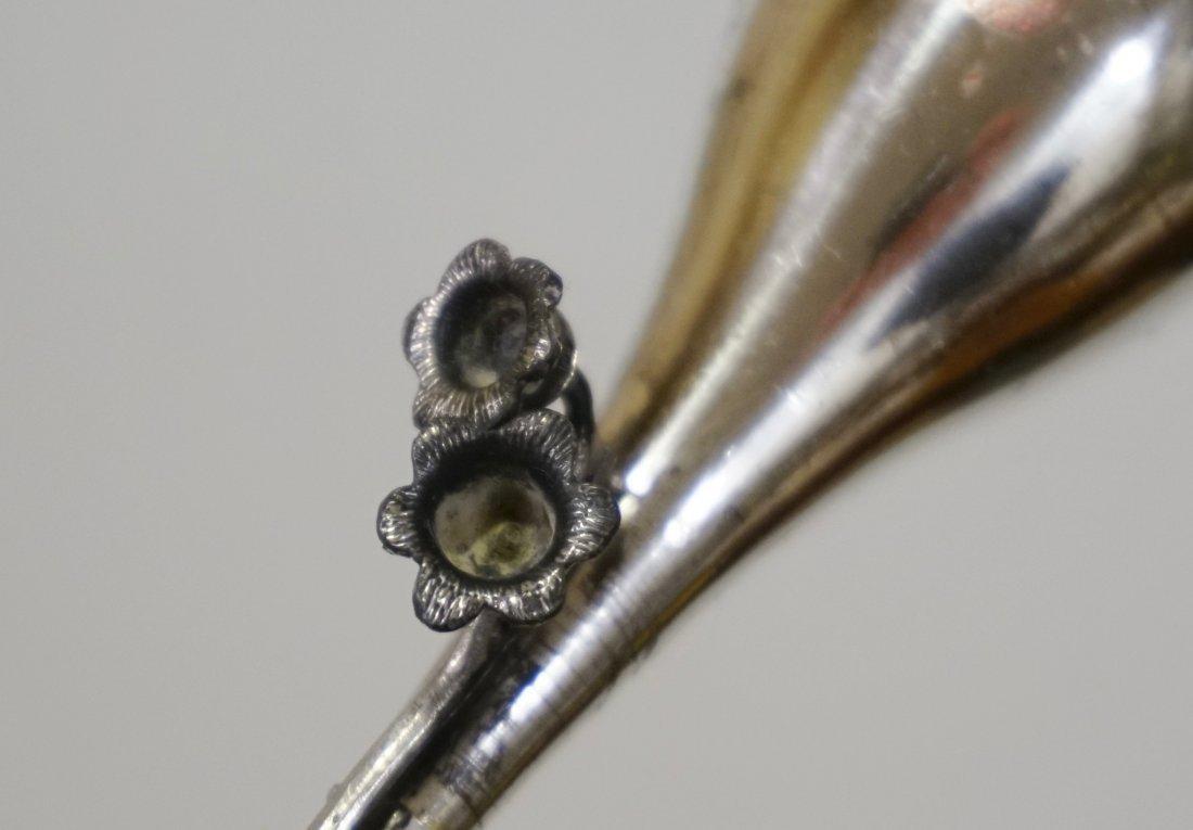 Meriden Co Silver Candlestick - 3
