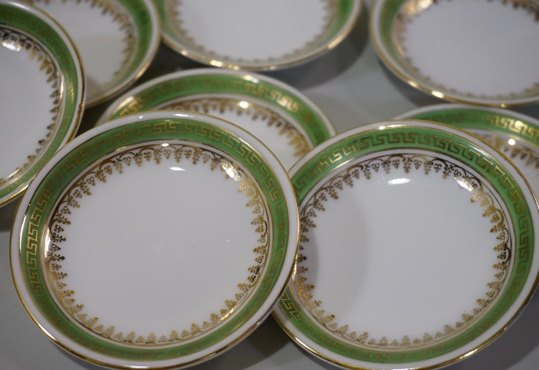 Miniature Dollhouse Plate Butter Pat Imperial Crown - 2